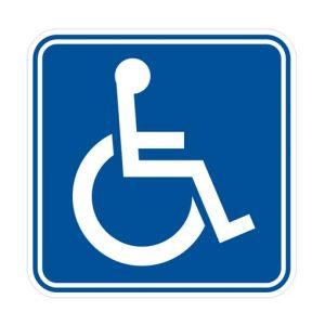 стикер инвалид